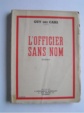 Guy des Cars - L'officier sans nom