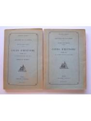 Ecoles militaires. Cours d'Histoire. Tome II. De 1815 à 1914.