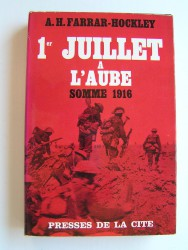 1er juillet à l'aube. Somme 1916
