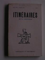 Itinéraires n°221. Chroniques et documents