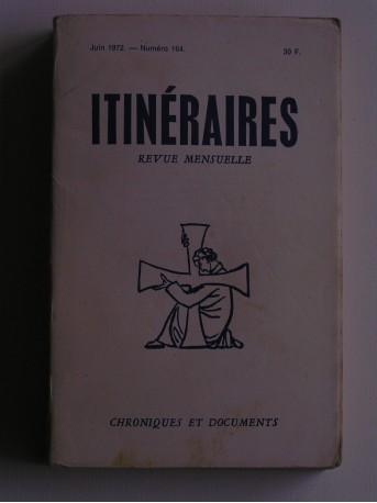 Collectif - Itinéraires n°164. Chroniques et documents