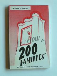 """Le retour des """"200 familles"""""""
