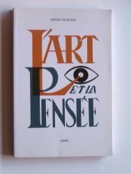 L'art et la pensée