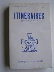 Itinéraires. Numéro 264. Vingt ans après: 1962 - 1982