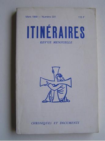 Collectif - Itinéraires. Numéro 331. Hervé de Blignères.