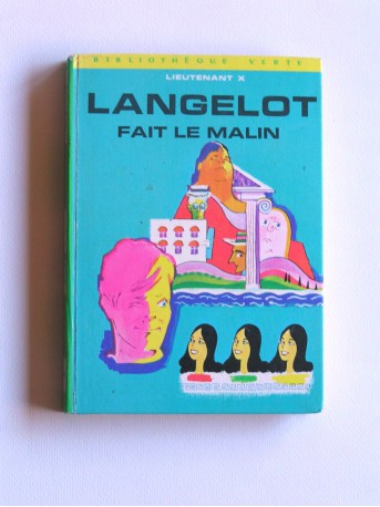 Lieutenant X (Vladimir Volkoff) - Langelot fait le malin