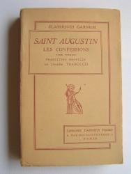 Saint Augustin - Les confessions. Tome 1. Latin et français.