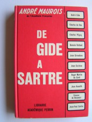 André Maurois - De Gide à Sartre