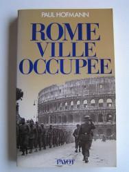 Rome, ville occupée