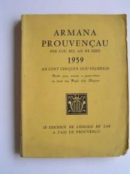 Armana prouvençau per lou bel an de Dieu 1959