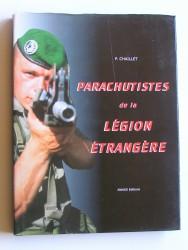 Parachutistes de la Légion Etrangère