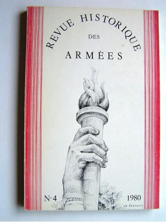 Collectif - Revue historique des armées. N°4 - 1980
