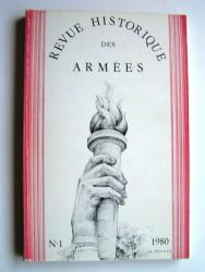 Revue historique des armées. N°1 - 1980