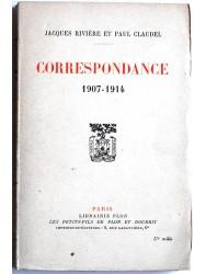 Correspondance. 1907 - 1914