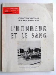 Anonyme - L'honneur et le sang. Le Charivari n°61bis. Mai à novembre 1963